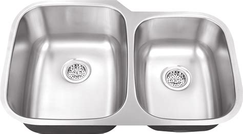 60 40 kitchen sink www iptsink m 108 18 bowl undermount
