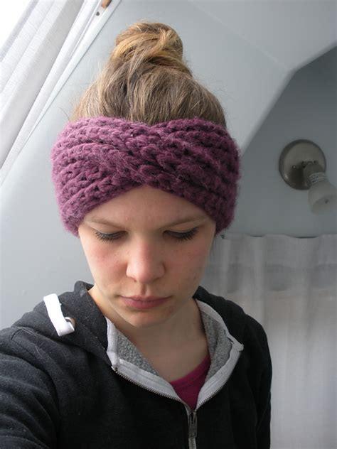 knitted turban pattern free knitting patterns galore turban headband