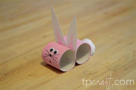 bunny toilet paper roll craft tpcraft bunny toilet paper roll
