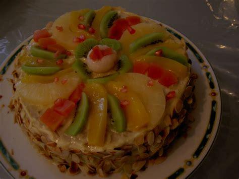 fruit gateau decoration images