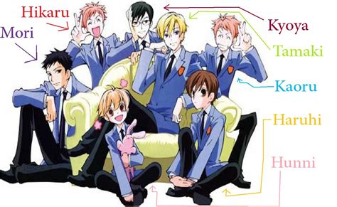 ouran highschool host club ask away