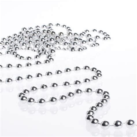 silver bead garland silver bead garland floral sale sales