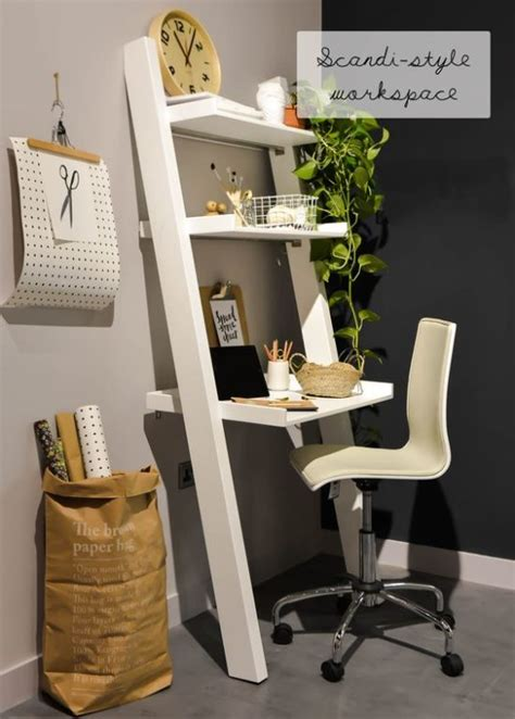 how to fit a desk in a small bedroom decorating with ladders the honeycomb home