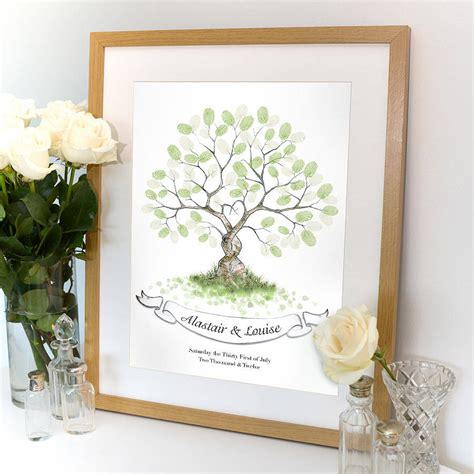 picture guest book entwined fingerprint tree guest book by lillypea event