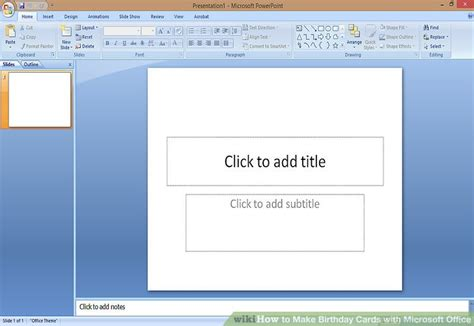 how to make a birthday card on microsoft word how to make birthday cards with microsoft office with