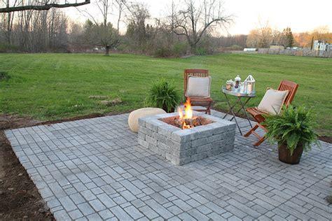pit on patio pavers patio home depot patio pavers home interior design