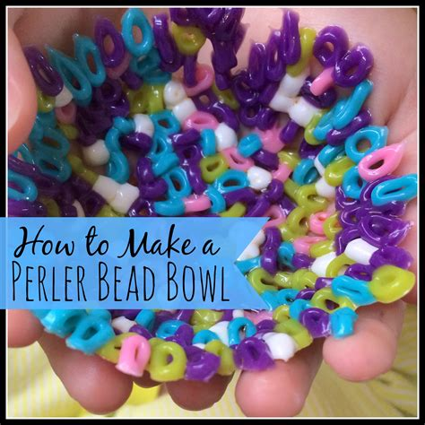 How To Make A Perler Bead Bowl My Big Happy