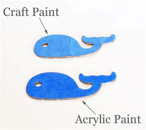 acrylic paint for wood what paint to use and when comparing craft and acrylic paint