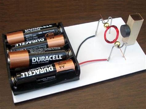 Easy Electric Motor electrical engineering simple electric motors