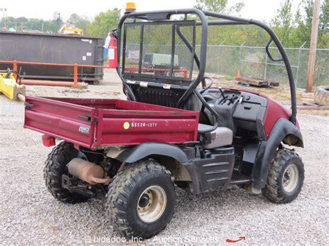 Kawasaki Mule Utv by 2012 Kawasaki 610 Mule Gas 4x4 Utility Vehicle Utv Dump