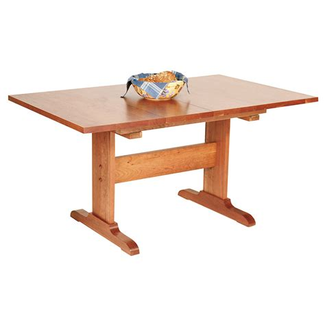 rectangular dining room tables traditional rectangular trestle table vermont woods studios