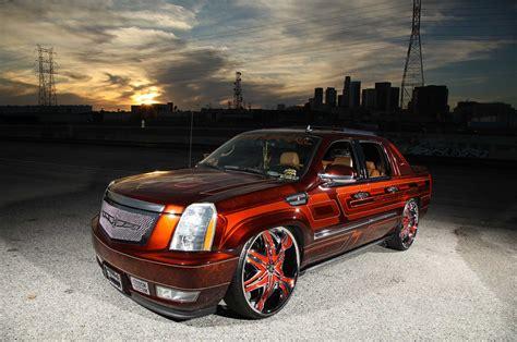 2008 Cadillac Escalade Ext by A 2008 Cadillac Escalade Ext On Diablo Wheels Lowrider
