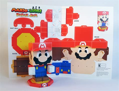 all paper crafts gamefreaks mario luigi paper jam papercraft designed by