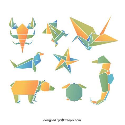 animal origami origami animals vector free