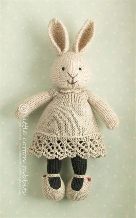 free knitting patterns for rabbits 25 best ideas about cotton rabbits on