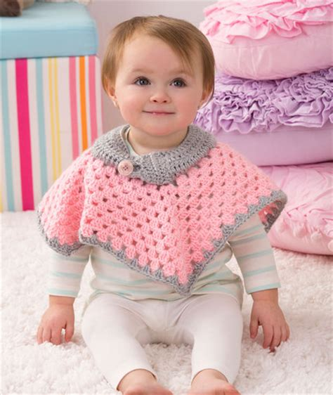 knit child poncho patterns free crochet patterns galore sweet baby poncho crochet baby