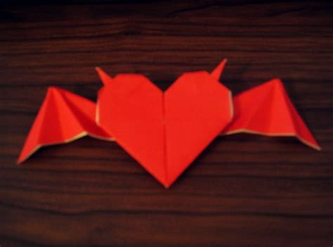 origami with wings step by step origami with horns and bat wings 183 how to fold an