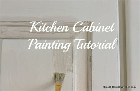 chalk paint kitchen cabinets tutorial things new transformed from broken to beautiful
