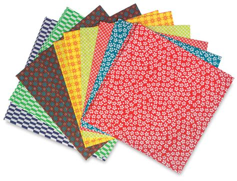 where to find origami paper aitoh kimono and folk origami paper blick materials