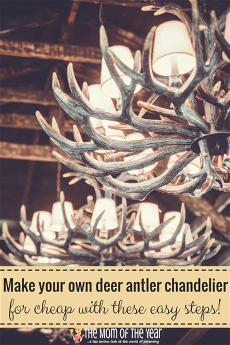how to make deer antler chandelier diy deer antler chandelier the of the year