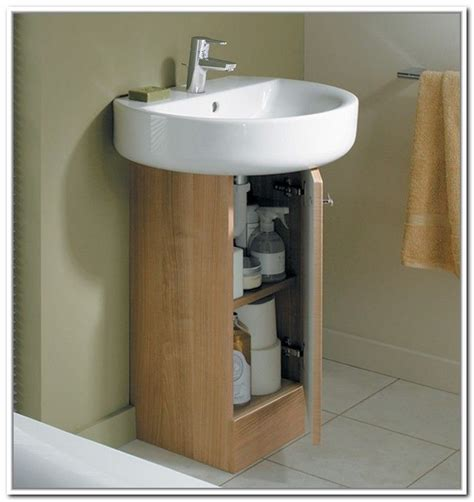 bathroom pedestal sink ideas 17 best ideas about sink storage on