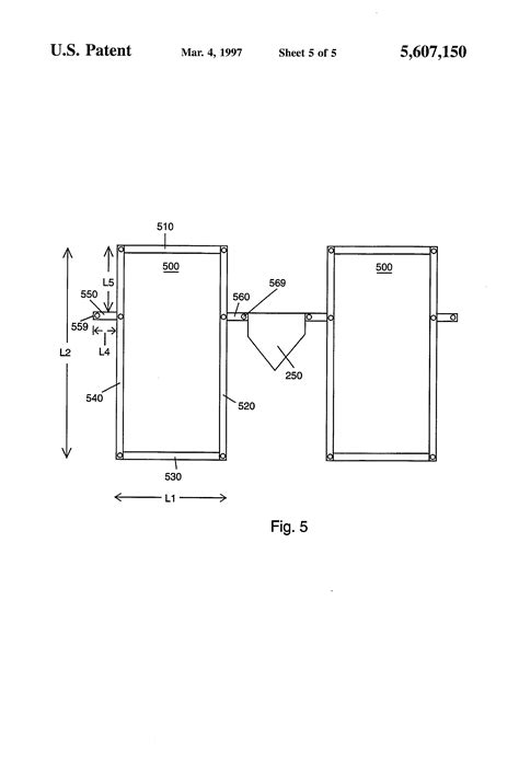patent us5607150 portable batter s box google patents
