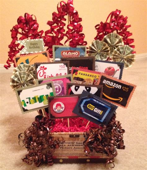 gift card display ideas images