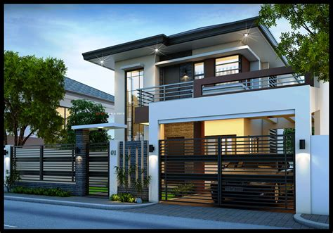 2 storey house plans best 2 storey modern house plans picture modern house plan modern house plan