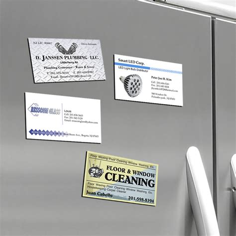 how to make magnetic business cards magnet business card