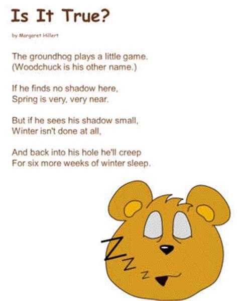 groundhog day poetry is it true poem