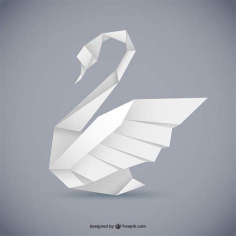 origami graphic design 25 best ideas about origami swan on simple