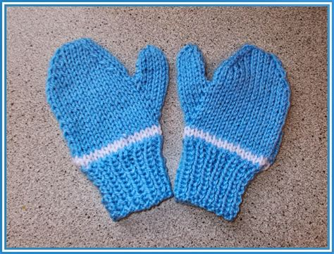 easy toddler mitten knitting pattern marianna s lazy days easy 2 needle toddler and
