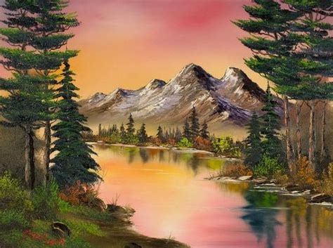 bob ross paintings how much the the myth the legend bob ross thinglink