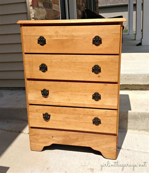 spray painting unfinished wood furniture textured dresser guest post from jen at in the