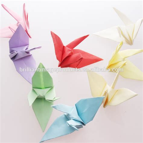 China Handmade Fold Origami Paper Cranes Wholesale Buy