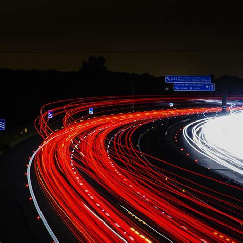 Car Lights Wallpaper by Nh63 Road Light Car Wallpaper