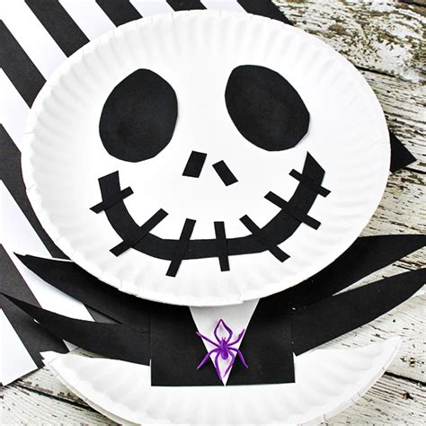 skellington craft for the nightmare before