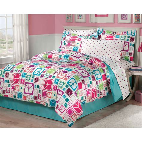 peace sign bedding peace signs bedding set 6pc comforter set bed