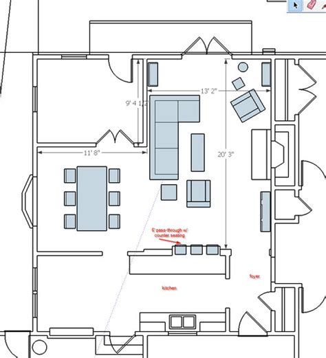 living room and dining room furniture l shaped living room and dining room furniture layout