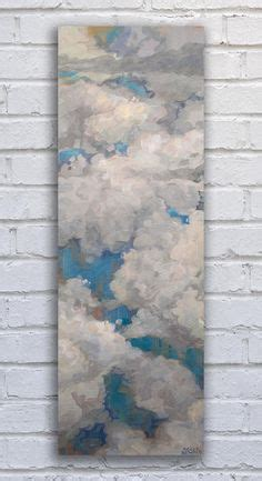 paint nite kingston moon painting sky painting large vertical diptych