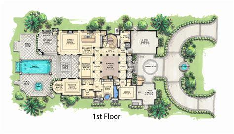 mediterranean home floor plans 50 lovely pictures single story mediterranean house plans home inspiration
