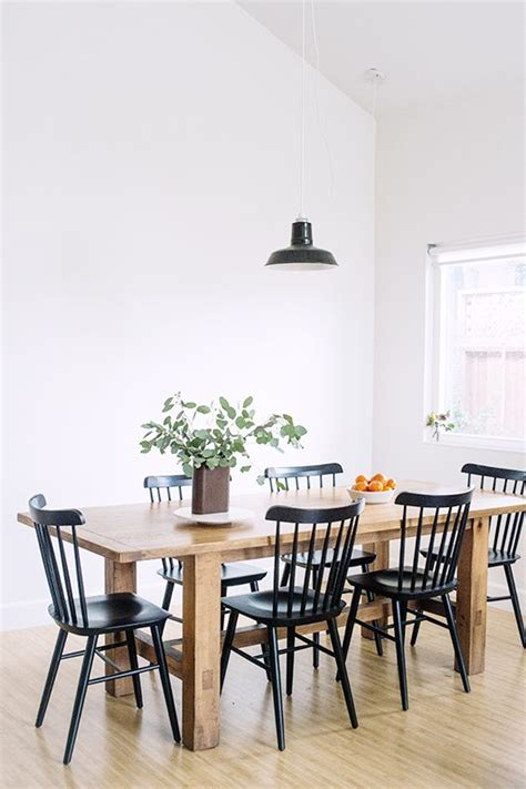 black and white dining room chairs 25 best ideas about black dining tables on