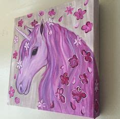 paint nite unicorn acrylics acrylic paintings and twists on