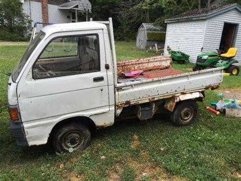Daihatsu Mini Trucks by 2 Daihatsu Hijet Mini Trucks Great Restoration Project