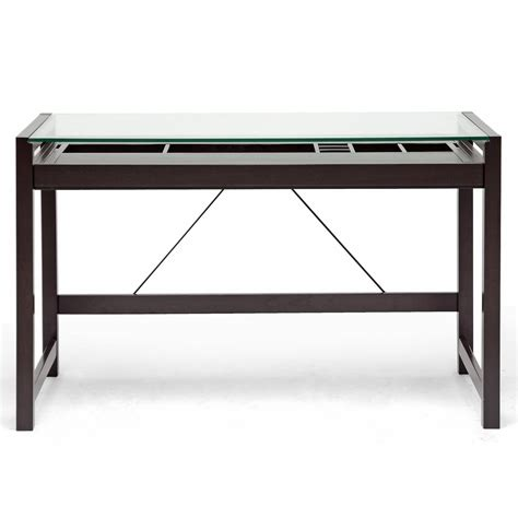 glass modern desk glass desk black glass desk