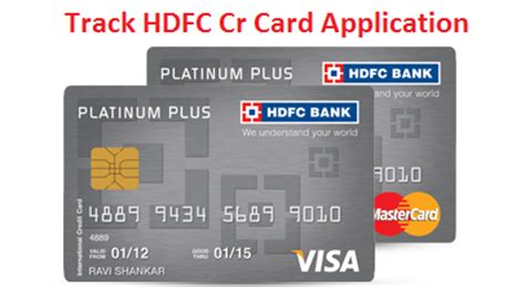 how to make hdfc credit card hdfc credit card application status and