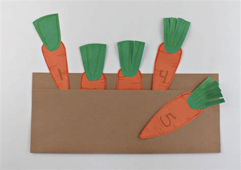 carrot craft for carrot garden craft for preschoolers faith filled food