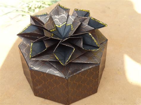 origami box and lid origami gift box with lid comot