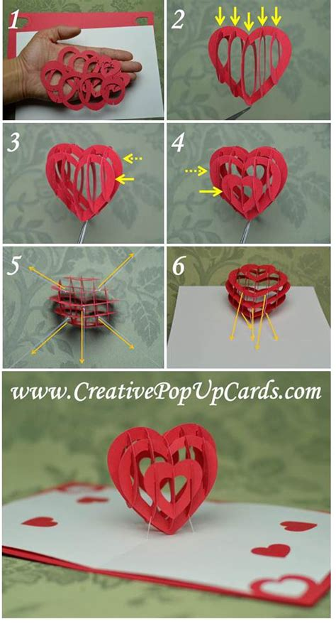 how do you make a pop up card make your own 3d popup for that special person