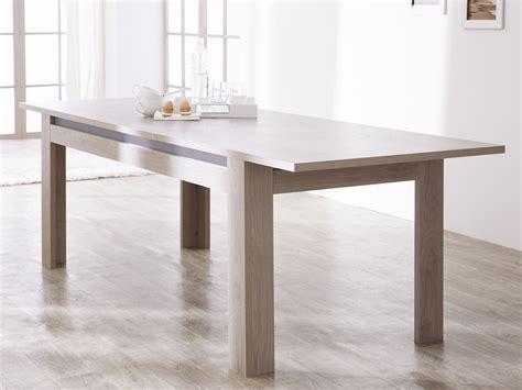 table rectangulaire de salle 224 manger avec allonge dinard table 224 manger contemporaine table